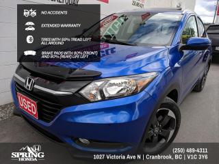 Used 2018 Honda HR-V EX-L NO ACCIDENTS, EXTENDED WARRANTY, ALL SEASON MATS, BUG DEFLECTOR, TIRES WITH 80% TREAD LEFT - $195 BI for sale in Cranbrook, BC