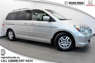 Used 2005 Honda Odyssey EX-L 5 SPD at Leather, Power Sliding Doors, Local Trade for sale in Regina, SK