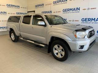 Used 2012 Toyota Tacoma TRD -Double Cab V6- BAS KM-CABINE EN FIBRE for sale in St-Raymond, QC