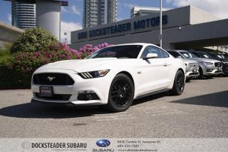 Used 2017 Ford Mustang Coupe GT Premium NAVIGATION | LEATHER | 5.0L | HEATED SEATS for sale in Vancouver, BC