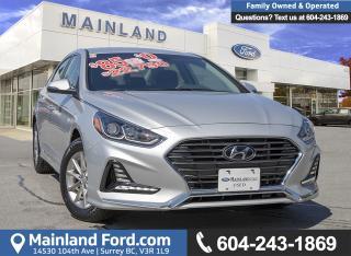 Used 2019 Hyundai Sonata Essential ACCIDENT FREE for sale in Surrey, BC