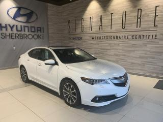 Used 2015 Acura TLX ELITE V6 + SH-AWD + CUIR + GPS + CAMÉRA for sale in Sherbrooke, QC