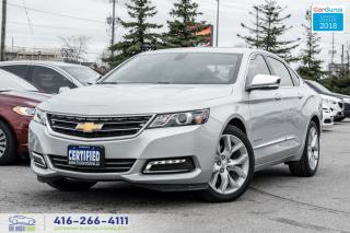 Used 2019 Chevrolet Impala PREMIER V6 NoAccidents Certified Serviced Warranty for sale in Bolton, ON