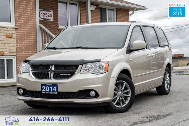 2014 Dodge Grand Caravan 1OwnerCleanCarfaxDualStowGoCertifiedFinancing30thD