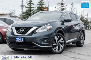 Used 2015 Nissan Murano Platinum NaviGps LeatherRoof No Accidents 1 Owner for sale in Bolton, ON