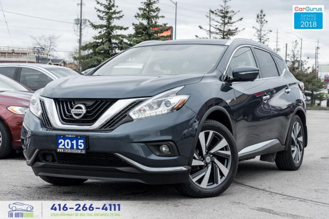 2015 Nissan Murano Platinum NaviGps LeatherRoof No Accidents 1 Owner