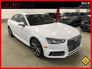 Used 2018 Audi A4 Sedan QUATTRO S-LINE SPORT CARPLAY NAVIGATION for sale in Vaughan, ON