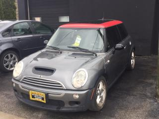 Used 2005 MINI Cooper Hardtop 2dr Cpe S for sale in Scarborough, ON