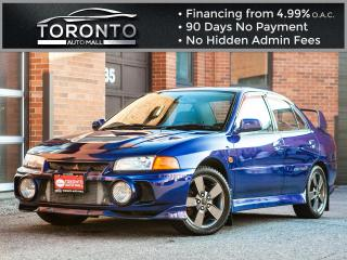 Used 1996 Mitsubishi Lancer Evolution Lancer Evolution JDM Right hand drive Street Legal for sale in North York, ON