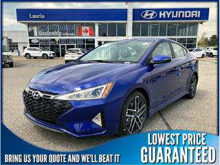 New 2019 Hyundai Elantra 1.6T Sport Auto for sale in Port Hope, ON