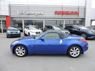 Used 2005 Nissan 350Z Roadster 2 portes, boîte automatique ave for sale in St-Georges, QC