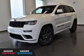 Used 2019 Jeep Grand Cherokee HIGH ALTITUDE + V6 + DEMO + SUSP. PNEUMA for sale in St-Jean-Sur-Richelieu, QC