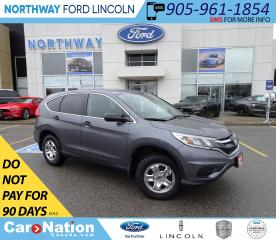 Used 2016 Honda CR-V LX | AWD | HTD SEATS | BACK UP CAM | ECO MODE | for sale in Brantford, ON