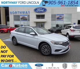 Used 2019 Volkswagen Jetta Highline | HTD LEATHER | SUNROOF | PUSH START | for sale in Brantford, ON