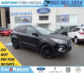 Used 2017 Ford Escape SE | NAV | PWR HTD SEATS | SPORT PKG | for sale in Brantford, ON