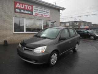 Used 2003 Toyota Echo AUTOMATIQUE for sale in St-Hubert, QC