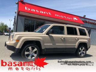 Used 2017 Jeep Patriot High Altitude, Leather, Sunroof, Alloy Wheels!! for sale in Surrey, BC