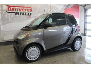 Used 2013 Smart fortwo Coupe for sale in Lévis, QC
