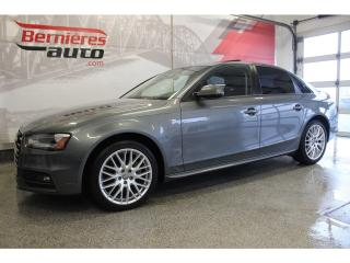 Used 2015 Audi A4 S-LINE Quattro for sale in Lévis, QC
