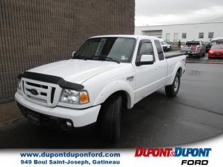 Used 2011 Ford Ranger Cabine super 4 RM 126 po SPORT for sale in Gatineau, QC