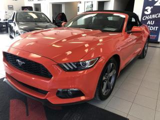 Used 2015 Ford Mustang CONVERTIBLE/3.7 L/ORANGE TRÈS RARE for sale in Sherbrooke, QC