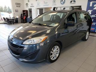 Used 2012 Mazda MAZDA5 6PASSAGERS/BLUETOOTH /TOIT/DÉMARREUR A D for sale in Sherbrooke, QC
