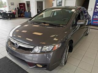 Used 2011 Honda Civic MAG/TOIT OUVRANT/A/C for sale in Sherbrooke, QC