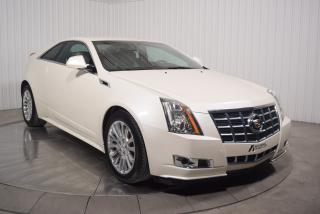 Used 2014 Cadillac CTS PERFORMANCE COUPE AWD 3.6L CUIR for sale in St-Hubert, QC