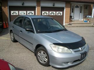 Used 2005 Honda Civic DX for sale in Cambridge, ON