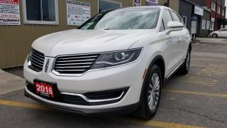 Used 2016 Lincoln MKX Select-FACTORY WARRANTY-LEATHER-NAVIGATION-SUNROOF for sale in Tilbury, ON