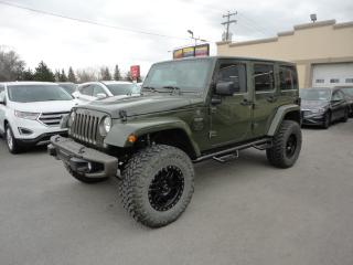Used 2016 Jeep Wrangler Unlimited 75th Anniversary Lifted for sale in Laval, QC