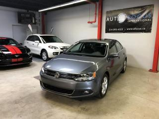 Used 2014 Volkswagen Jetta Comfortline 1,8 TSI AUTO,TOIT OUVRANT,TO for sale in Montréal, QC