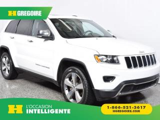 Used 2015 Jeep Grand Cherokee LTD for sale in St-Léonard, QC