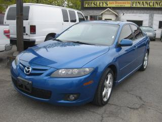 Used 2008 Mazda MAZDA6 GS Auto Hatchback Sunroof PL PM PW Cruise for sale in Ottawa, ON