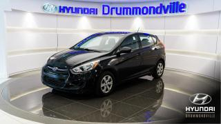 Used 2016 Hyundai Accent GL + GARANTIE + BLUETOOTH + A/C + WOW !! for sale in Drummondville, QC