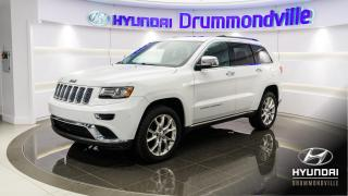 Used 2014 Jeep Grand Cherokee SUMMIT + GARANTIE + NAVI + TOIT + CUIR ! for sale in Drummondville, QC
