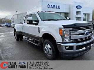Used 2017 Ford F-350 Ford Super Duty F-350 LARIAT ROUE DOUBLE for sale in Gatineau, QC