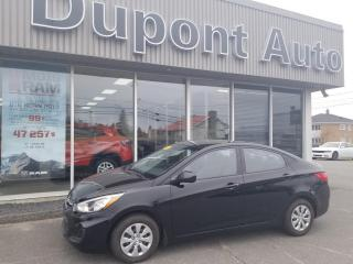 Used 2016 Hyundai Accent Berline 4 portes, boîte automatique, GLS for sale in Alma, QC