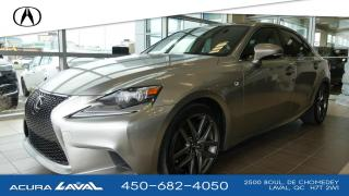 Used 2016 Lexus IS 350 F-Sport 2 Awd for sale in Laval, QC