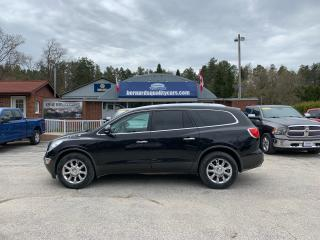 Used 2012 Buick Enclave CXL2 for sale in Flesherton, ON