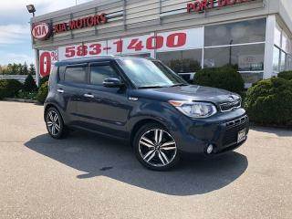 Used 2014 Kia Soul Two-Tone Fathom Blue/White for sale in Port Dover, ON