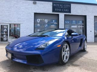 Used 2004 Lamborghini Gallardo RARE 6-Speed Manual, Exhaust, Perfect Condition for sale in Guelph, ON