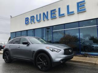 Used 2017 Infiniti QX70 Sport 8 pneus 8 mags for sale in St-Eustache, QC