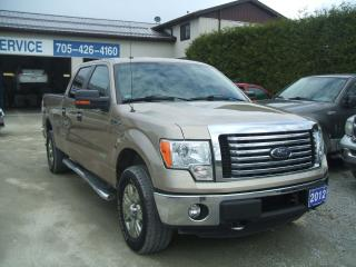 Used 2012 Ford F-150 XLT,XTR ,4X4 , Crew 6'Box , ECO BOOST for sale in Beaverton, ON