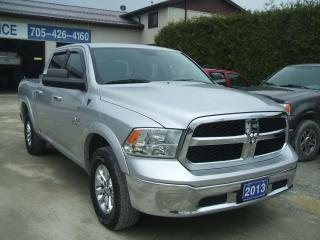 Used 2013 RAM 1500 SLT,Crew Cab,4X4 for sale in Beaverton, ON