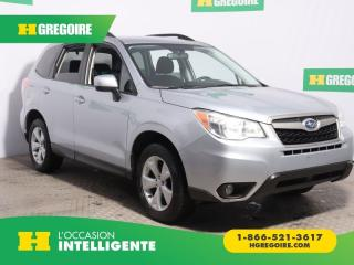Used 2016 Subaru Forester I TOURING AWD A/C for sale in St-Léonard, QC