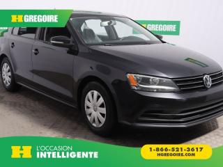 Used 2015 Volkswagen Jetta TRENDLINE+ A/C GR for sale in St-Léonard, QC