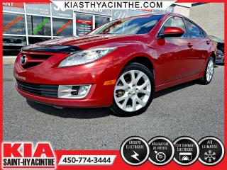 Used 2010 Mazda MAZDA6 GS ** TOIT OUVRANT + A/C for sale in St-Hyacinthe, QC