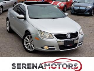 Used 2010 Volkswagen Eos COMFORTLINE | MANUAL | ONE OWNER | NO ACCIDENTS for sale in Mississauga, ON