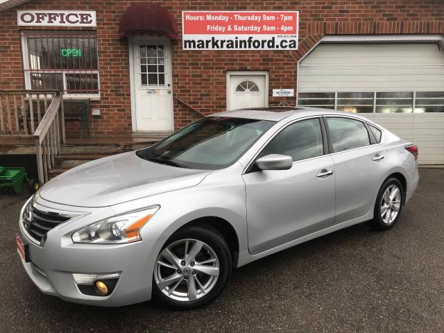 2014 Nissan Altima 2.5 SV Sunroof Back up Cam Bluetooth